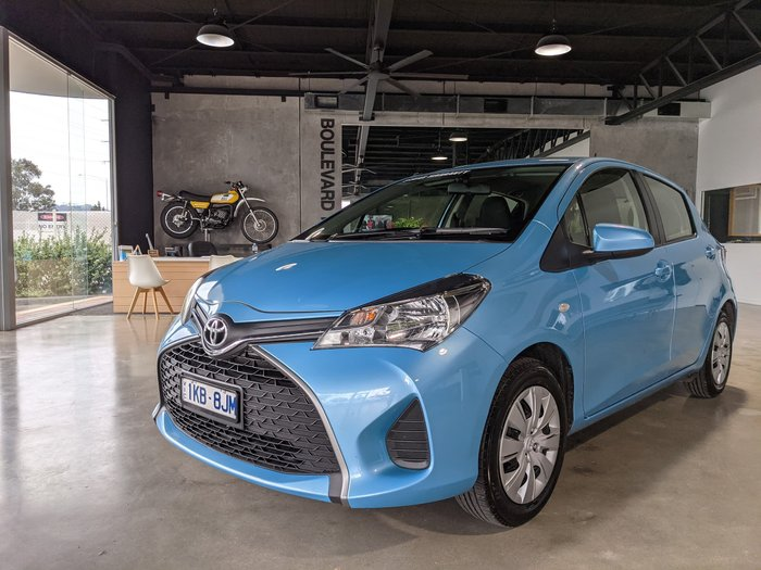2016 Toyota Yaris Ascent NCP130R Blue