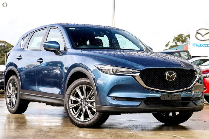 2020 Mazda CX-5 Akera KF Series 4X4 On Demand Blue