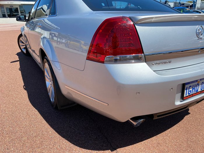 2012 Holden Caprice WM Series II Silver