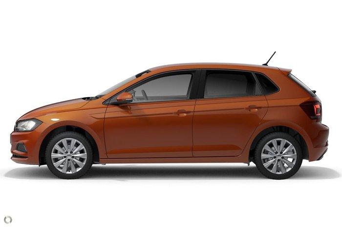2020 Volkswagen Polo 85TSI Style AW MY20 Orange