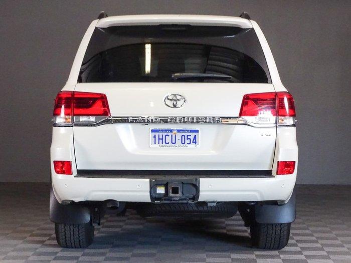 2018 Toyota Landcruiser VX VDJ200R 4X4 Dual Range White