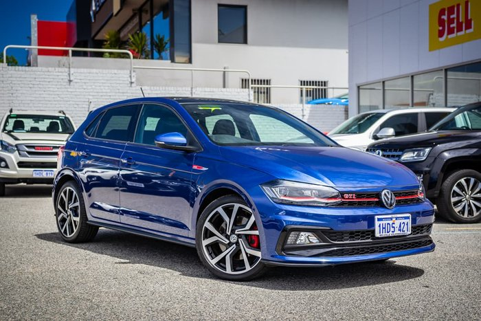 2019 Volkswagen Polo GTI AW MY20 Blue