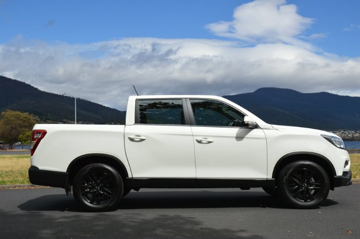 2020 SsangYong Musso Ultimate Q200 MY20.5 4X4 Dual Range GRAND WHITE