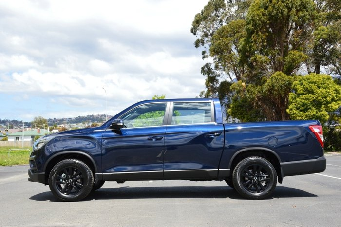 2020 SsangYong Musso Ultimate Q201 MY20.5 4X4 Dual Range ATLANTIC BLUE