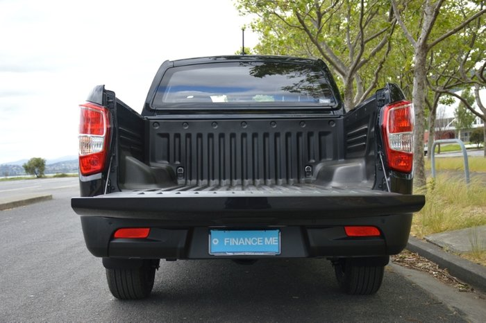 2020 SsangYong Musso Ultimate Q201 MY20 4X4 Dual Range SPACE BLACK
