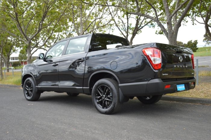 2020 SsangYong Musso Ultimate Q201 MY20.5 4X4 Dual Range SPACE BLACK