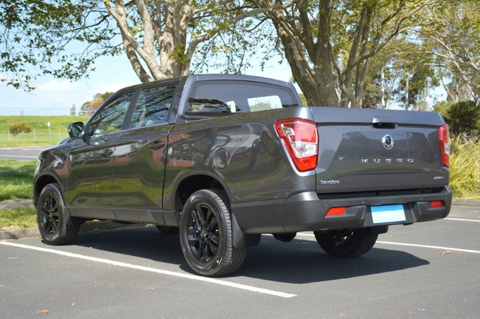 2020 SsangYong Musso Ultimate Q201 MY20.5 4X4 Dual Range MARBLE GREY