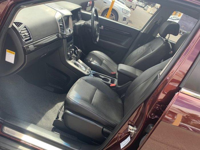 2014 Holden Captiva 7 LTZ CG MY14 4X4 On Demand Red