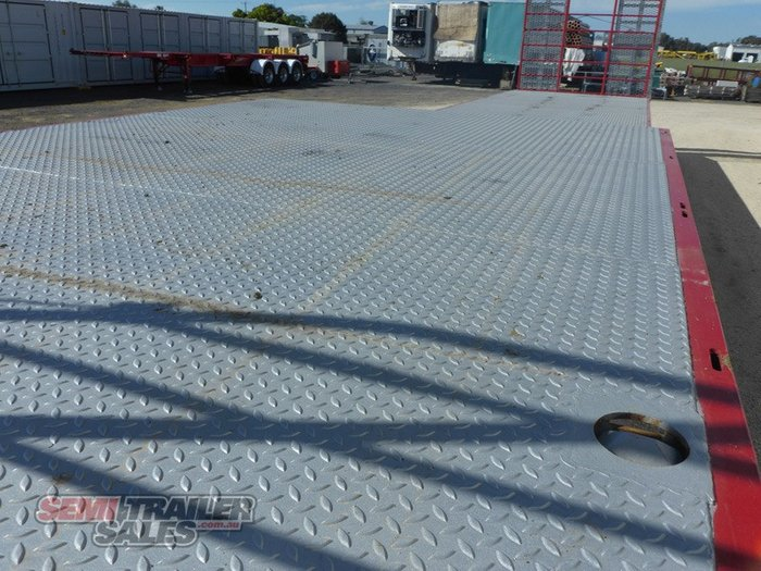 2020 Panus Semi 45FT Dropdeck with Ramps