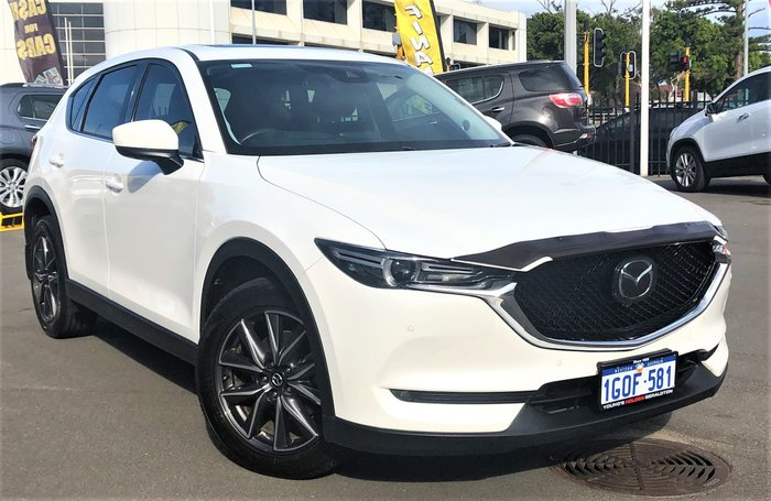 2018 Mazda CX-5 Akera KF Series 4X4 On Demand White