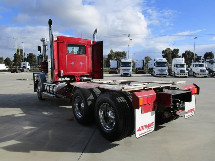 2010 KENWORTH T908 TIPPER SPEC RED