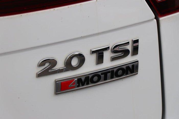 2017 Volkswagen Tiguan 132TSI Comfortline 5N MY17 Four Wheel Drive White