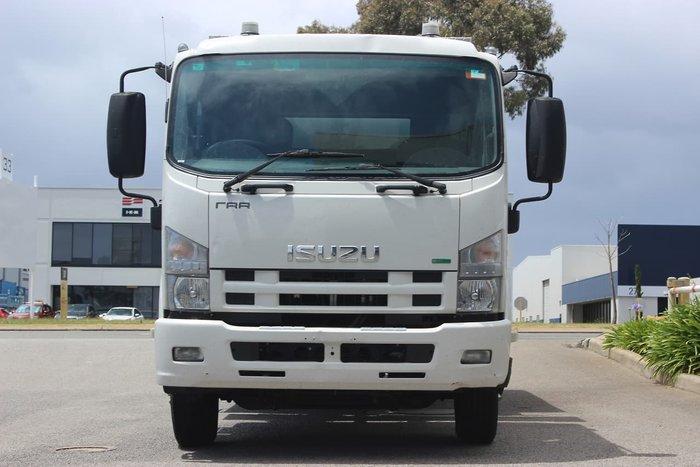 2012 ISUZU FRR500 WHITE