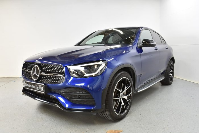 2019 Mercedes-Benz GLC-Class GLC300 C253 Four Wheel Drive Blue