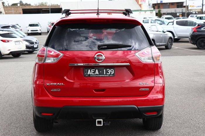 2014 Nissan X-TRAIL ST-L T32 4X4 On Demand Red