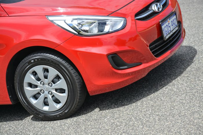 2016 Hyundai Accent Active RB4 MY16 Red
