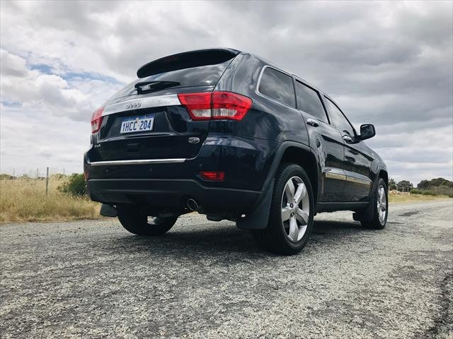 2013 Jeep Grand Cherokee Overland WK MY13 4X4 Constant Blue