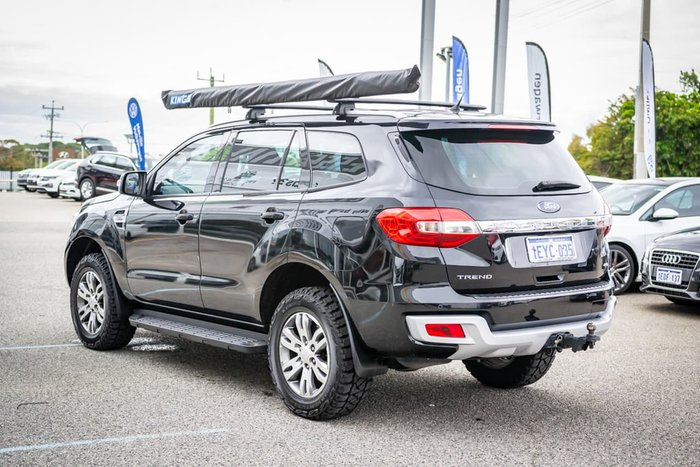 2015 Ford Everest Trend UA 4X4 Dual Range Black