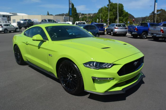 2019 Ford Mustang GT FN MY20 Green