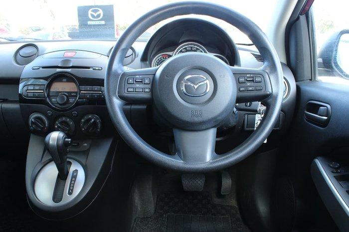 2011 Mazda 2 Neo DE Series 1 MY11 Red