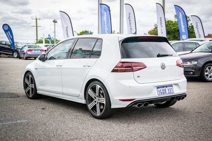 2016 Volkswagen Golf R 7 MY17 Four Wheel Drive White