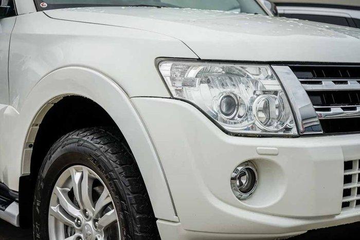 2014 Mitsubishi Pajero Exceed NW MY14 4X4 Dual Range White