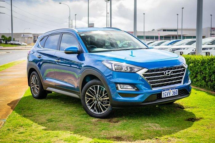 2019 Hyundai Tucson Elite TL3 MY19 4X4 On Demand Blue