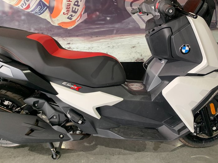 2019 Bmw C 400 X ION White