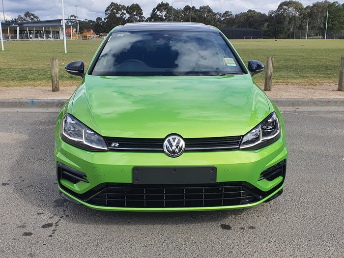 2020 Volkswagen Golf R Final Edition 7.5 MY20 Four Wheel Drive Viper Green