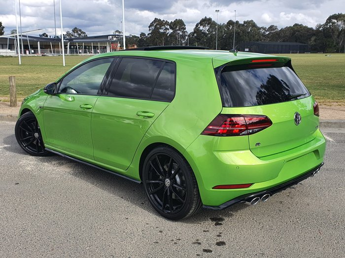 2020 Volkswagen Golf R Final Edition 7.5 MY20 Four Wheel Drive Green