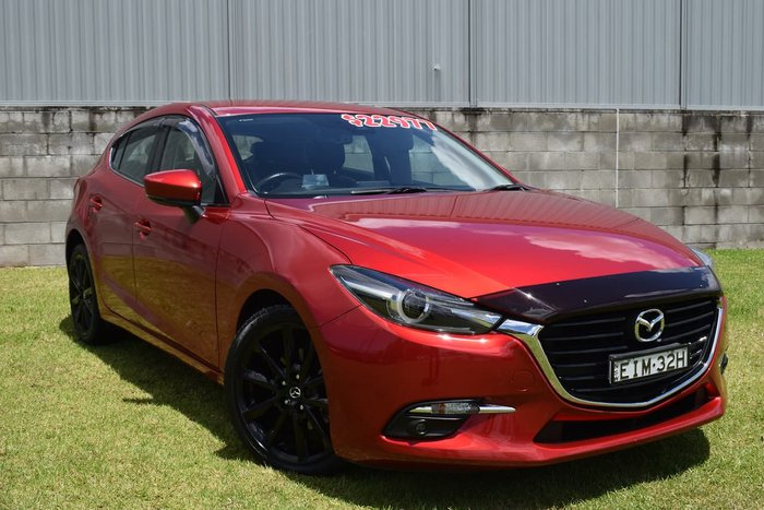 2015 Mazda 3 SP25 Astina BM Series Red