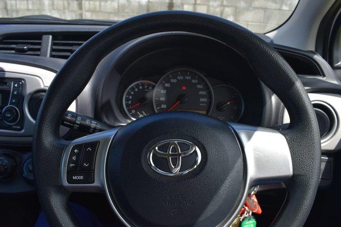 2013 Toyota Yaris YR NCP130R White