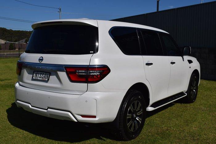 2020 Nissan Patrol Ti Y62 Series 5 MY20 4X4 Dual Range White