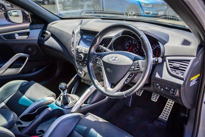 2016 Hyundai Veloster SR Turbo FS4 Series II White