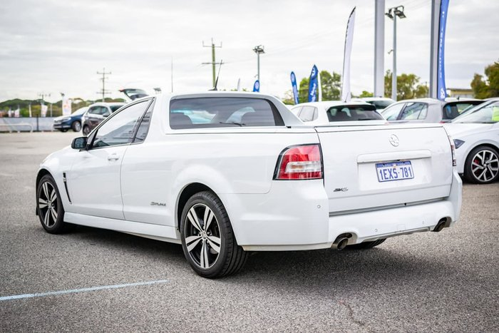 2014 Holden Ute SV6 Storm VF MY14 White