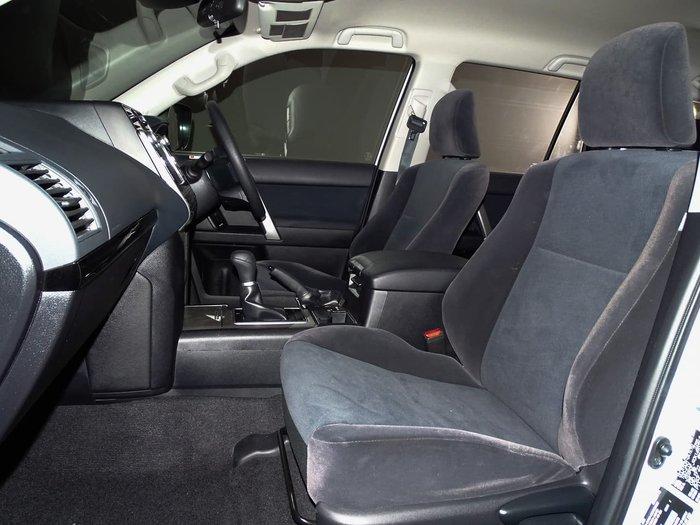 2019 Toyota Landcruiser Prado GX GDJ150R 4X4 Dual Range White