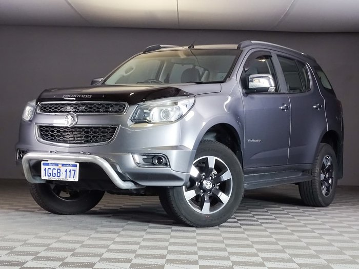 2016 Holden Colorado 7 Trailblazer RG MY16 4X4 Dual Range Grey