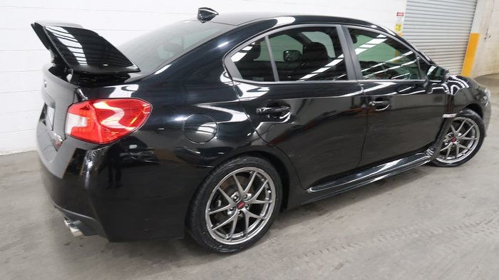 2015 Subaru WRX STI Premium V1 MY16 Four Wheel Drive Black
