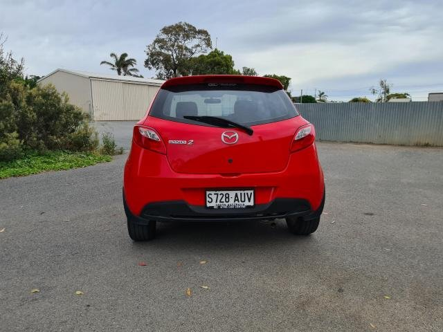 2012 MAZDA MAZDA2 MAXX DE MY13 True Red