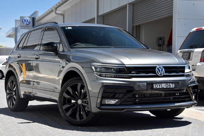 2018 Volkswagen Tiguan Wolfsburg Edition 5N MY19 Four Wheel Drive Grey