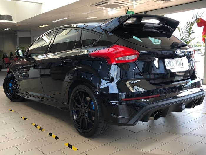 2017 Ford Focus RS LZ Four Wheel Drive Black