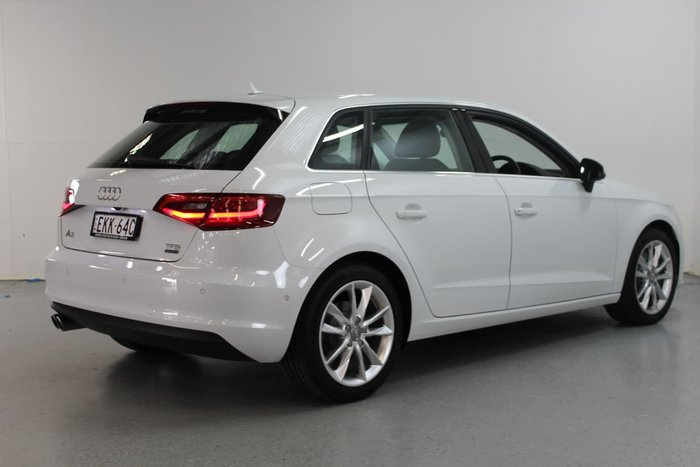 2015 Audi A3 Ambition 8V MY15 White