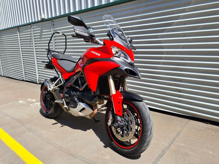 2012 Ducati Multistrada 1200 ABS Multistrada Red or Artic White