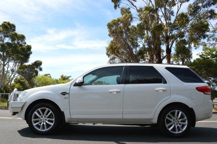 2014 Ford Territory TS SZ MkII Four Wheel Drive WHITE