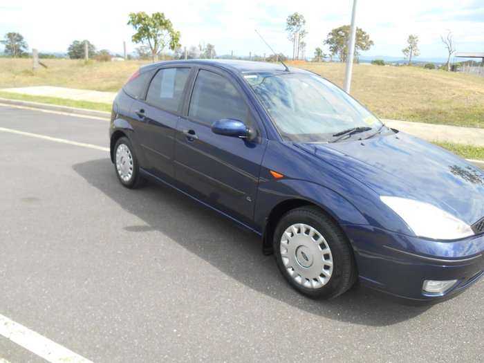 2004 Ford Focus CL LR MY03 Blue