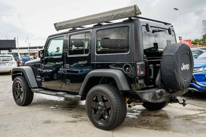 2011 Jeep Wrangler Unlimited Sport JK MY12 4X4 Black