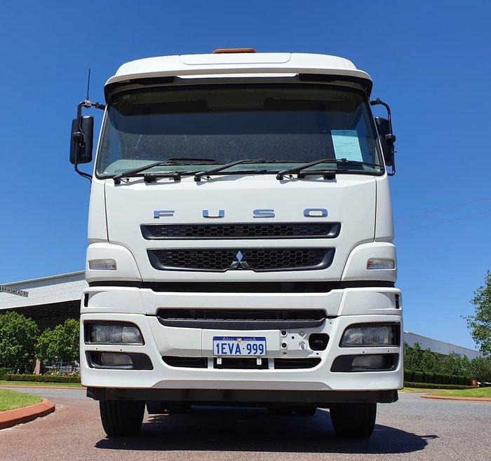 2014 FUSO FV54 WHITE