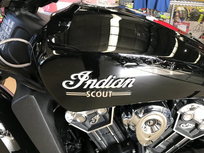 2021 Indian 2021 INDIAN 1100CC SCOUT THUNDER BLACK CRUISER Black