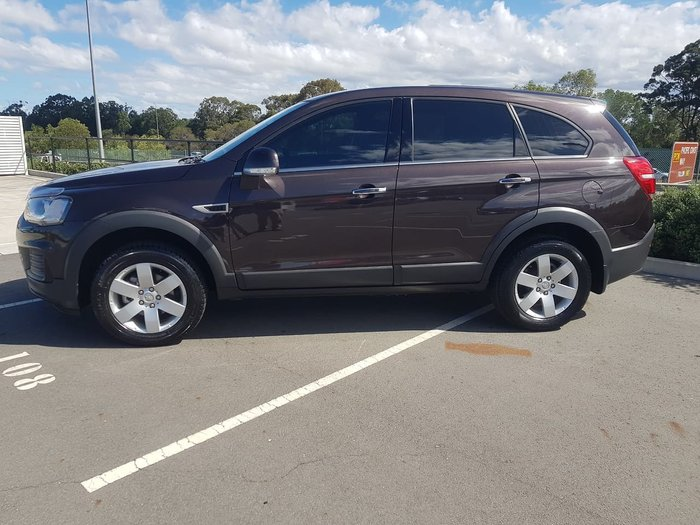2016 Holden Captiva LS CG MY16 Brown