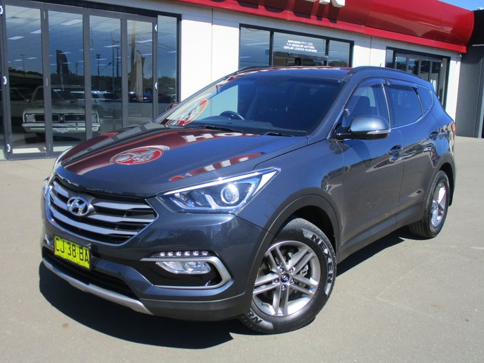 2016 Hyundai Santa Fe Active DM3 Series II MY16 4X4 On Demand Blue
